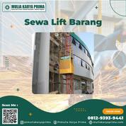 Sewa Lift Barang Sungguminasa / Kab. Gowa / Lift Material / Alimak / Hoist (30713083) di Kab. Gowa