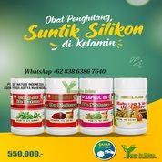 Obat Kelamin Bengkak Ampuh Minyak Kemiri Penghilang Suntik Silikon Herbal De Nature 100% Original (30748514) di Kota Bontang