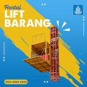 Rental / Sewa Lift Barang, Lift Material Kap. 1-4 Ton Tanah Laut (30764714) di Kab. Tanah Laut