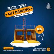 Rental / Sewa Lift Barang, Lift Material Kap. 1-4 Ton Kutai Timur (30764901) di Kab. Kutai Timur