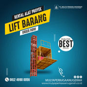 Rental / Sewa Lift Barang, Lift Material Kap. 1-4 Ton Kab. Rembang (30768827) di Kab. Rembang