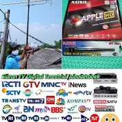 Jasa Pasang Antena Tv Set Top Box T2 Matrix (30779087) di Kota Jakarta Timur