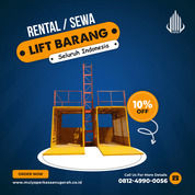 Rental / Sewa Lift Barang, Lift Material 1-4 Ton Minahasa Selatan (30783190) di Kab. Minahasa Selatan