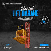 Rental / Sewa Lift Barang, Lift Material 1-4 Ton Banggai Laut (30783330) di Kab. Banggai Laut