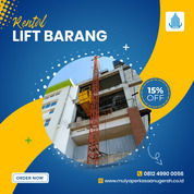 Rental / Sewa Lift Barang, Lift Material 1-4 Ton Bombana (30783597) di Kab. Bombana