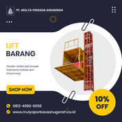 Rental / Sewa Lift Barang, Lift Material 1-4 Ton Konawe Kepulauan (30783716) di Kab. Konawe Kep.