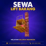 Rental / Sewa Lift Barang, Lift Proyek 1-4 Ton Gowa (30790708) di Kab. Gowa
