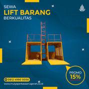 Rental / Sewa Lift Barang, Lift Proyek 1-4 Ton Luwu Timur (30790833) di Kab. Luwu Timur