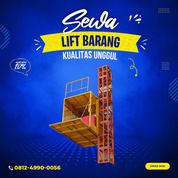 Rental / Sewa Lift Barang, Lift Proyek 1-4 Ton Kepulauan Sula (30792120) di Kab. Kep. Sula