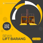 Rental / Sewa Lift Barang, Lift Proyek 1-4 Ton Pulau Taliabu (30792173) di Kab. Pulau Taliabu