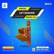 Rental / Sewa Lift Barang, Lift Proyek 1-4 Ton Kepulauan Aru (30792382) di Kab. Kep. Aru