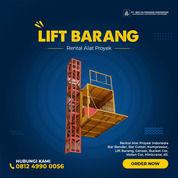 Rental / Sewa Lift Barang, Lift Proyek 1-4 Ton Bangka Tengah (30793104) di Kab. Bangka Tengah