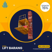 Rental / Sewa Lift Barang, Lift Proyek 1-4 Ton Belitung (30793128) di Kab. Belitung