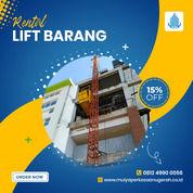 Rental / Sewa Lift Barang, Lift Proyek 1-4 Ton Sarolangun (30793623) di Kab. Sarolangun