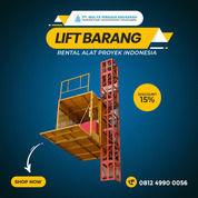 Rental / Sewa Lift Barang, Lift Proyek 1-4 Ton Tanjung Jabung Barat (30793691) di Kab. Tanjung Jabung Barat