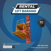 Rental / Sewa Lift Barang, Lift Proyek 1-4 Ton Kampar (30793770) di Kab. Kampar