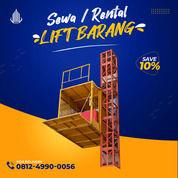 Rental / Sewa Lift Barang, Lift Proyek 1-4 Ton Dumai (30793855) di Kota Dumai