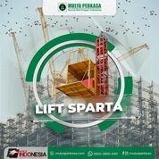 Sewa Lift Barang Malang   Lift Material Proyek (30802429) di Kota Malang