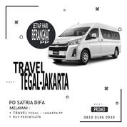 Travel Tegal Jakarta PO Satria Difa Call/WA O819 O246 O930 (30822567) di Kab. Tegal