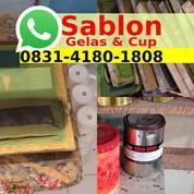 Jasa Sablon Gelas Plastik Jogja (30826035) di Kab. Sekadau