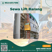 Sewa Lift Barang Surabaya | Lift Proyek | Alimax | Bar Bending | Bucket Cor (30826252) di Kota Surabaya