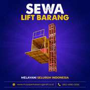 Rental / Sewa Lift Barang, Lift Material 1-4 Ton Aceh Singkil (30829939) di Kab. Aceh Singkil