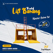 Rental / Sewa Lift Barang, Lift Material 1-4 Ton Pakpak Bharat (30831118) di Kab. Pakpak Bharat
