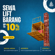 Rental / Sewa Lift Barang, Lift Material 1-4 Ton Mappi (30832911) di Kab. Mappi