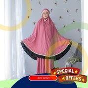 [GARANSI UANG KEMBALI], Mukena Bali Polos Premium, Mukena Bali Bahan Katun Rayon (30836643) di Kab. Brebes
