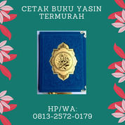 Cetak Buku Yasin Termurah Semarang HP/WA: 0813-2572-0179 PRIMA EXPRESSINDO (30839204) di Kab. Kendal