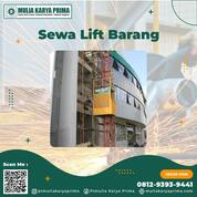 Sewa Lift Barang Proyek Halmahera Tengah (30854429) di Kab. Halmahera Tengah