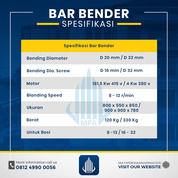 Rental / Sewa Bar Bender, Bar Bending 8-32 Mm Wonogiri (30864053) di Kab. Wonogiri