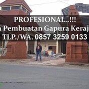 NO. 1!! CHAT 0857 3259 0133 Jasa Gapura Kerajaan Majapahit Madiun (30875802) di Kab. Madiun