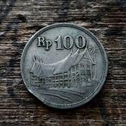 Uang Logam (Putih Tebal) Rp 100 Tahun 1973 (30901617) di Kota Lhokseumawe