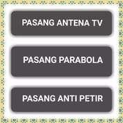 HARGA PASANG ANTENA TV - PASANG PARABOLA & PASANG PENANGKAL PETIR (30904528) di Kab. Serang