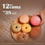 Richeese Factory 12 DONUT CUMA Rp. 38.637,- AJA! (30907729) di Kota Jakarta Selatan