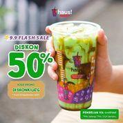 HAUS! 9.9 Flash Sale Diskon 50% (30908350) di Kota Jakarta Selatan