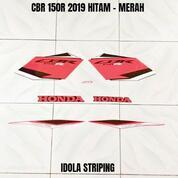 Striping CBR 150R 2019 Hitam - Merah (30912619) di Kota Jambi