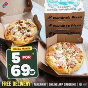 Domino's Pizza Pizza Mania For 5 Rp. 69 RB* (30918049) di Kota Jakarta Selatan