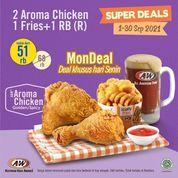 A&W Super Deals MonDeal Deal Khusus Hari Senin (30927445) di Kota Jakarta Selatan