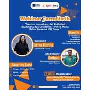 "#RYTIWebinar ""Webinar Jurnalistik"" Bersama IDN Times (30931274) di Kab. Sidoarjo"