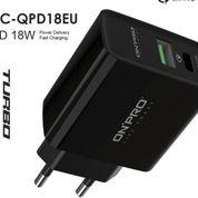 Adapter Charger 3.0 USB Type-C Quick Charge PD18W GARANSI 12 BULAN (30935898) di Kota Jakarta Barat
