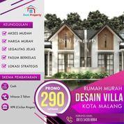 Rumah Murah Desain Villa Dekat Kampus Unmer Kota Malang (30943791) di Kab. Malang