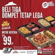 Pizza Hut Beli Tiga Dompet Tetap Lega (30957220) di Kota Jakarta Selatan