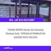 Harga Gazebo Kayu Glugu Minimalis Temanggung (30960148) di Kab. Jepara