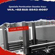 LAGI VIRAL,Tukang Pendopo Kayu Glugu Minimalis Jember (30961189) di Kab. Jepara