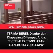 PASANG DITEMPAT, Wa. 081-555-436-087, Harga Saung Kayu Kelapa 2x2 Depok (30967920) di Kab. Jepara