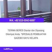 LAGI VIRAL, Wa. 081-555-436-087, Jasa Pembuatan Pendopo Kayu Kelapa 2x2 Batang (30968025) di Kab. Jepara