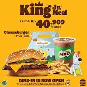 Burger King King Jr Meal Cuma Rp. 40.909/Paket (30993830) di Kota Jakarta Selatan