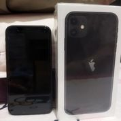 Preloved Iphone 11 Black 128GB (31013564) di Kab. Sidoarjo